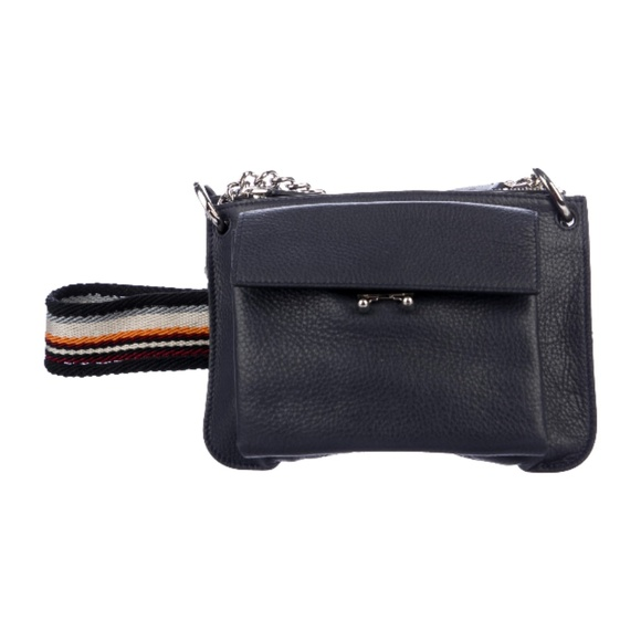 search for clearance choose original best quality MARNI TRUNK LEATHER CROSSBODY BAG